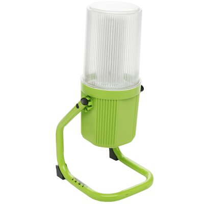 Ecozone Fluorescent Portable 360-Degree 1-Light Flood/Security Light