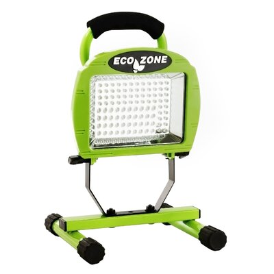 Rechargeable Portable Super Bright 180-Light LED Flood/Security Light
