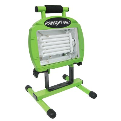Fluorescent Portable Flood/Security Light