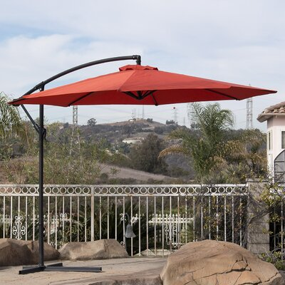 10 Cantilever Umbrella Color: Orange