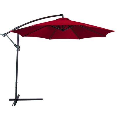 10 Cantilever Umbrella Color: Burgundy