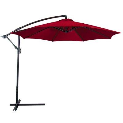 10 Cantilever Umbrella Color: Red