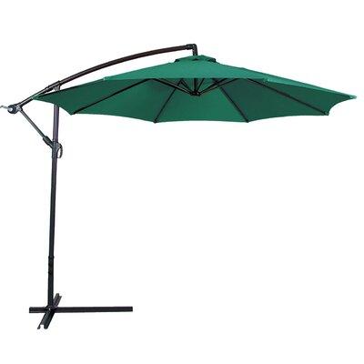 10 Cantilever Umbrella Color: Green