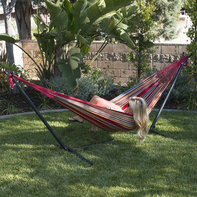 Nina Cotton Hammock with stand Color: Confetti