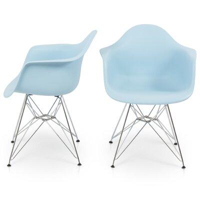 Arm Chair Finish: Blue