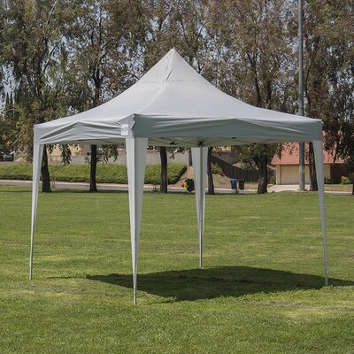 10 Ft. W x 10 Ft. D Canopy 014-HG-16120-WH
