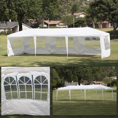 10 Ft. W x 30 Ft. D Canopy 014-HG-14093-WH