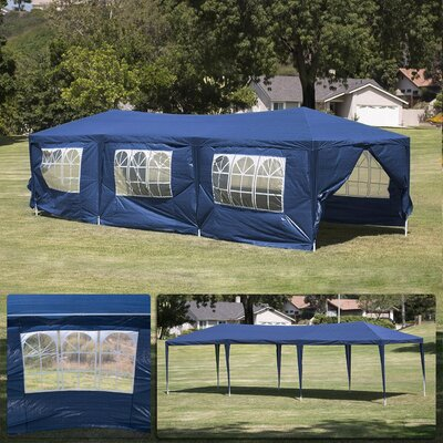 10 Ft. W x 30 Ft. D Canopy 014-HG-14094-BL