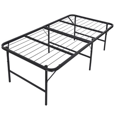 Foldable Lightweight Bed Frame Size: Twin