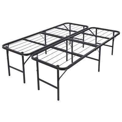 Foldable Lightweight Bed Frame Size: Full