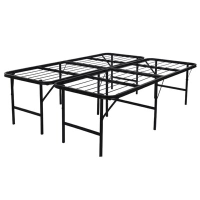 Foldable Lightweight Bed Frame Size: Queen