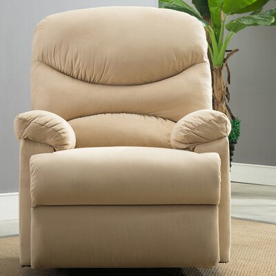 Microfiber Recliner Upholstery: Beige