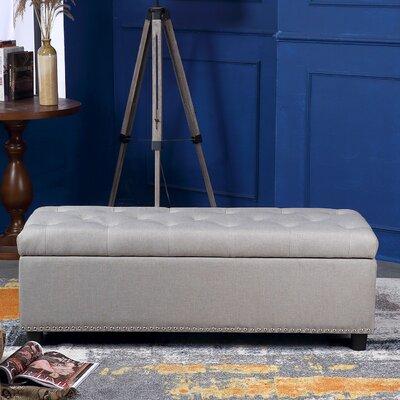 Arehart Ottoman Upholstery: Natural