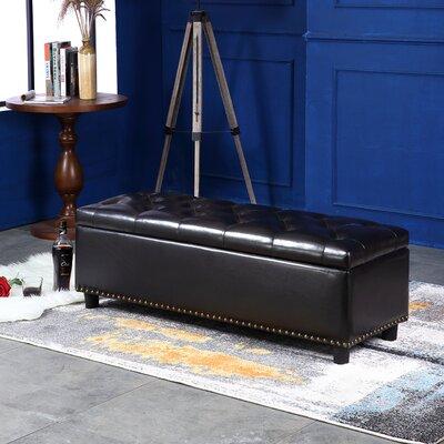Arehart Storage Ottoman Upholstery: Brown