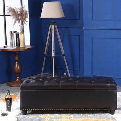 Arehart Ottoman Upholstery: Brown