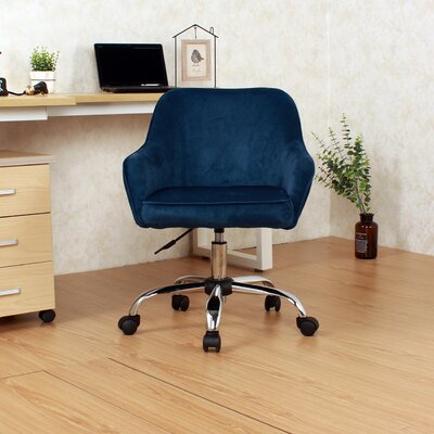 Reade Office Chair Color: Blue