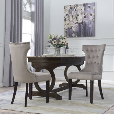 Premium Side Chair Color: Taupe