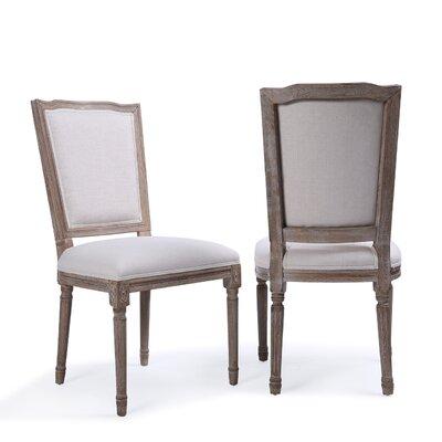 Agda Modern Classic Elegant Upholstered Dining Chair