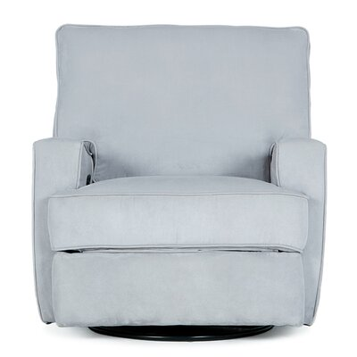Finck Manual Swivel Recliner Color: Gray