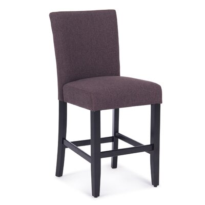 Balis Upholstered Dining Chair Upholstery Color: Dark Gray