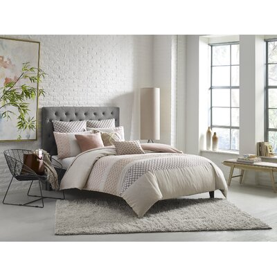 KAS Nola Duvet Cover Size: King