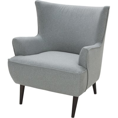 George Wing back Chair Upholstery: Sunday Spearmint