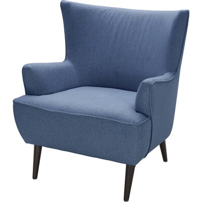 George Wingback Chair Upholstery: Sunday Indigo