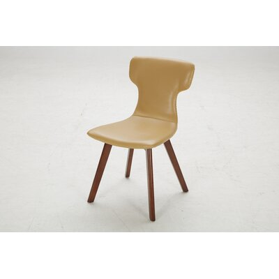 Parsons Chair (Set of 2) Upholstery: James Suede