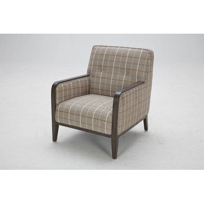 Charham Armchair Finish: Walnut Distressed