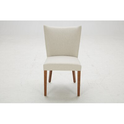Parsons Chair (Set of 2) Upholstery: Niagara Quilted Beige / Bella Beige