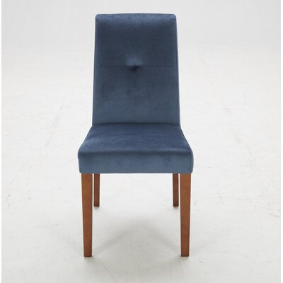 Parsons Chair (Set of 2) Upholstery: Piccolo Ink