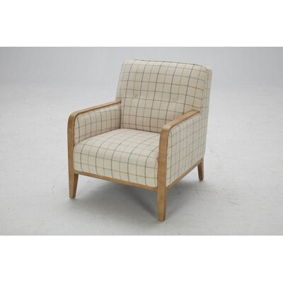Charham Arm Chair Finish: Natural Washed Distressed