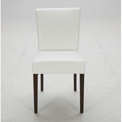 Parsons Chair (Set of 2) Upholstery: Dana White