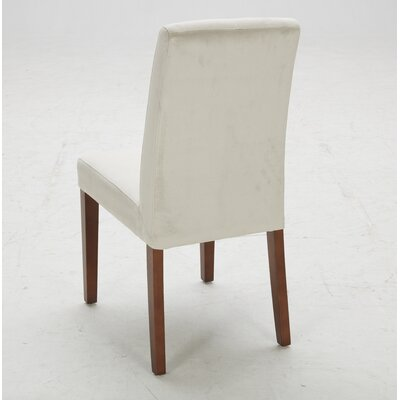 Parsons Chair (Set of 2) Upholstery: Piccolo Stone