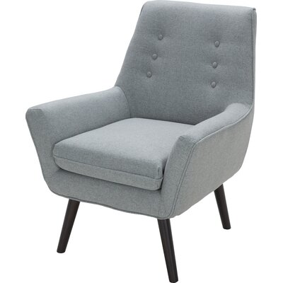 Milo Arm Chair Color: Sunday Spearmint