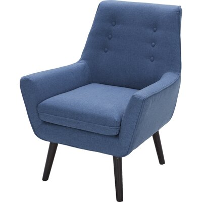 Milo Armchair Color: Sunday Indigo