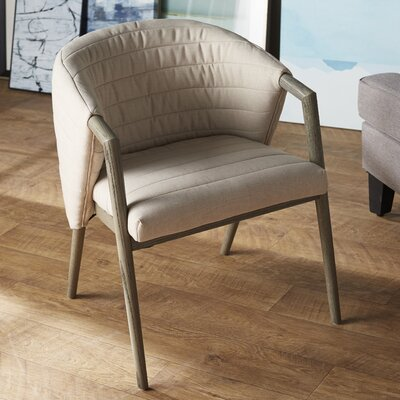 Parsons Chair Upholstery: Bella Beige