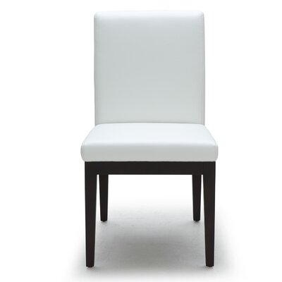 Parsons Chair (Set of 2) Upholstery: Dana White