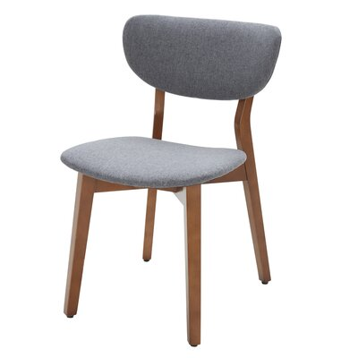 Side Chair (Set of 2) Upholstery: Sunday Gray