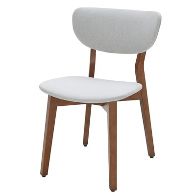 Side Chair (Set of 2) Upholstery: Sunday Silver