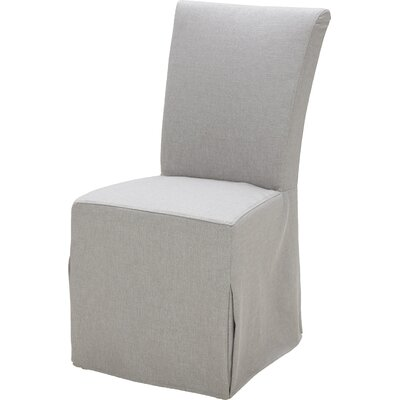 Side Chair (Set of 2) Upholstery: Polo Gray