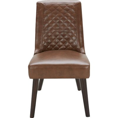 Side Chair (Set of 2) Upholstery: Tri Tone Brown