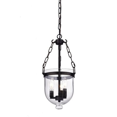 Afaura 3-Light Candle-Style Chandelier