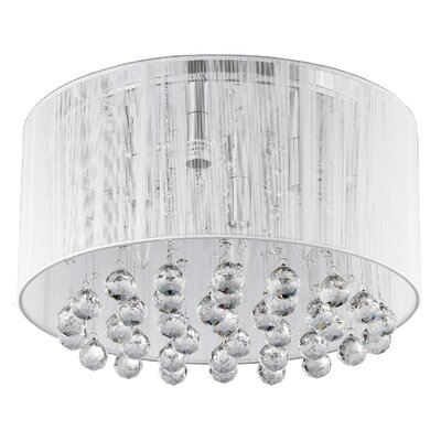 Afaura 4-Light Flush Mount