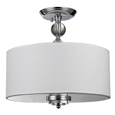 Afaura 3-Light Semi-Flush Mount
