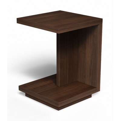 Edison End Table Finish: Colombian Walnut
