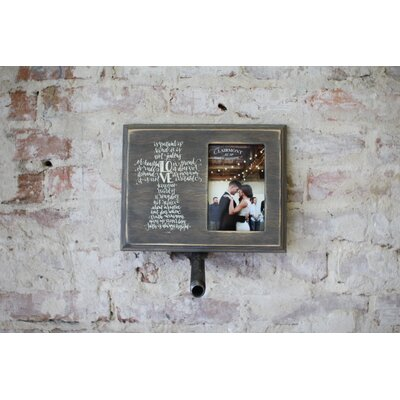 Lily Love Cross Message Picture Frame LMF162002