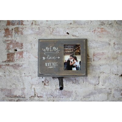 Lily Mr. and Mrs. Picture Frame LMF16101