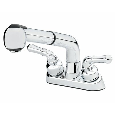 Double Handle Pull Out Standard Kitchen Faucet