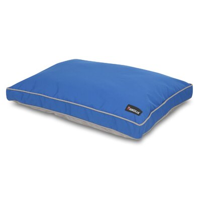 Gusseted Dog Pillow Bed Color: Blue/Gray